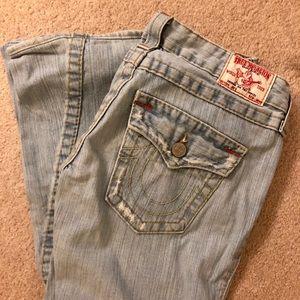 TRUE RELIGION flare Joey jeans